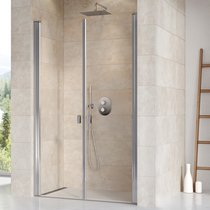 Porte de douche Chrome CSDL2