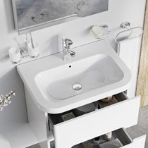 Lavabo en céramique Chrome 550/650